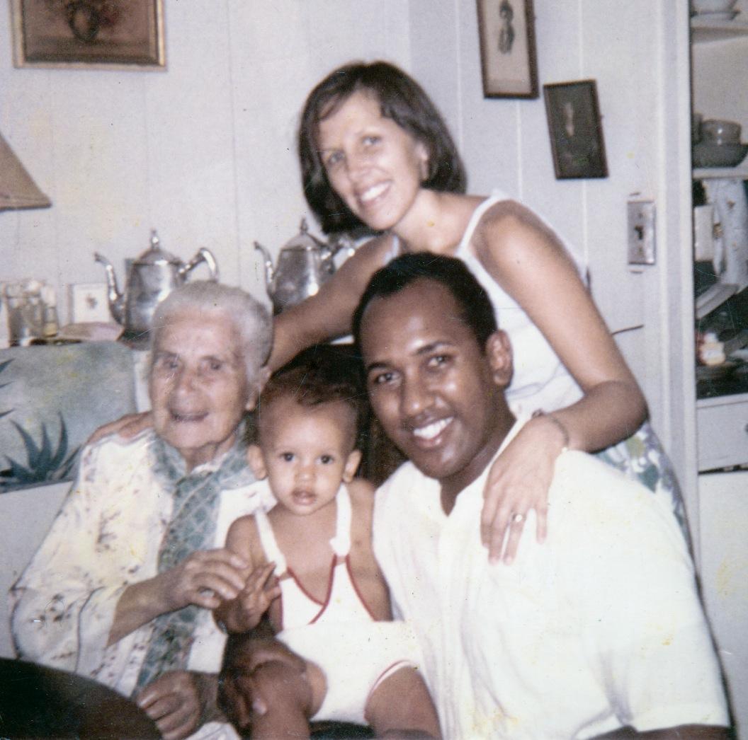 The family and Nana